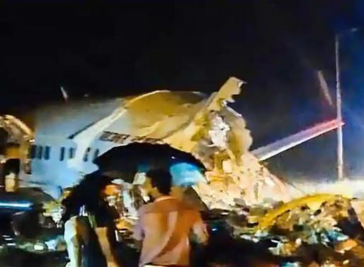 केरल में बड़ा हादसा, दो टुकड़ों में बंटा एयर इंडिया का विमान, 18 लोगों की मौत