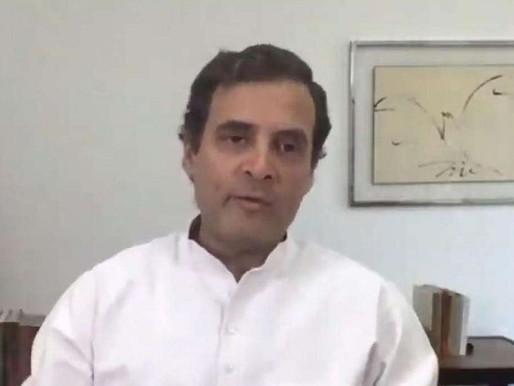 राहुल का मोदी पर हमला, बोले- अर्थव्यवस्था और रोजगार का सत्यानाश