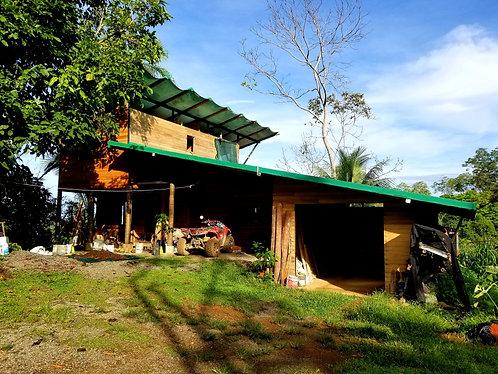 Renovated Tico Home on 2.5 Acres w Organic Fruit Trees