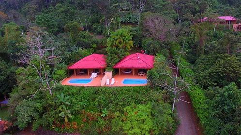 2 Fully Furnished Ocean View Villas with Private Pools on 2.5 Acres