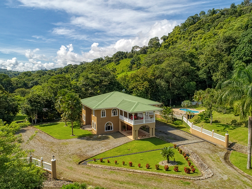 31 Acre 4/6 Luxury Home on Large River w/ 3 Waterfalls & 2 Creeks
