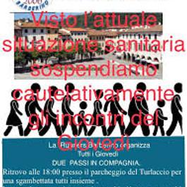 Due Passi in Compagnia MOMENTARIAMENTE ANNULATA PER COVID19