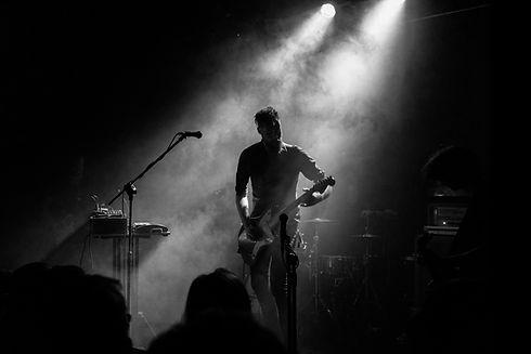 gitarristen Performing