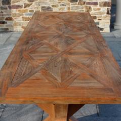 Natural Teak Dining Table
