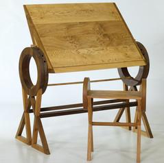 Rotating Design Desk and Stool