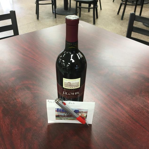 J. Lohr wine and $50 Spezia gift card: Derek Gulbrandson, Sioux Falls