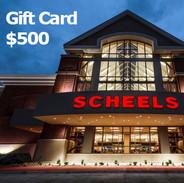Scheels $500 Gift Card