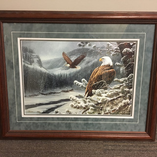 "Limited Edition Rosemary Millette ""Spirit of the Wild"" Eagle Print: Jay Titus, Canton"
