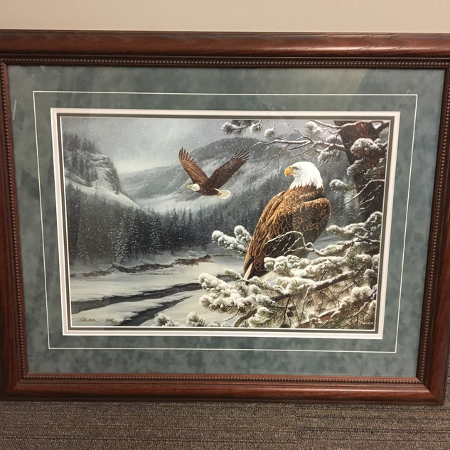 """Limited Edition Rosemary Millette """"Spirit of the Wild"""" Eagle Print: Jay Titus, Canton"""