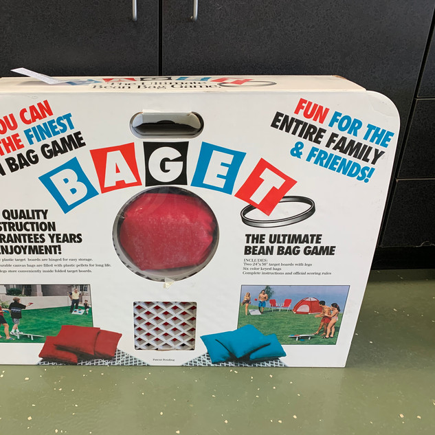 Baget Bean Bag Game | Donated by Tony & Lorraine Bour