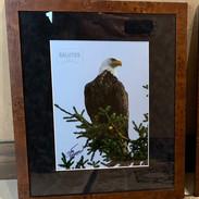 Framed Eagle Print   Donated by Marilyn & Scott Korsten