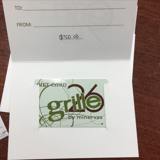 $50 Grille26 Gift Certificate: Jeff Barnable, Sioux Falls