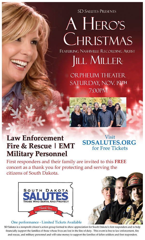 South Dakota Salutes - A Hero's Christmas - Jill Miller