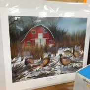"""Grandpa's Barn"" Limited Edition Print (8 of 10 Artist Proof): Josh Blindert, Salem"