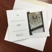 $50 Morrie's Gift Certificate: Tom Flint, Mitchell