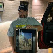 Framed Mt. Rushmore Print   Donated by Marilyn & Scott Korsten