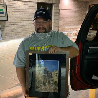 Framed Mt. Rushmore Print | Donated by Marilyn & Scott Korsten
