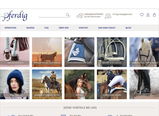Erfolgsstory: nachhaltiger Reitsportbedarf mit Pferdig