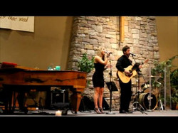 Performing a duet w/ Alvan Reasoner