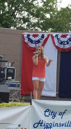 2016 4th of July show in Higginsville, Missouri
