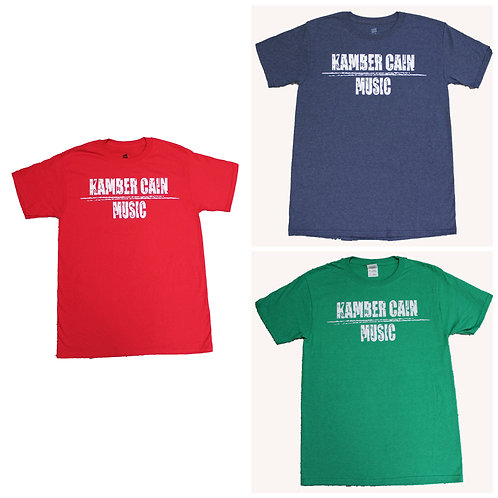 Kamber Cain Music T-Shirt
