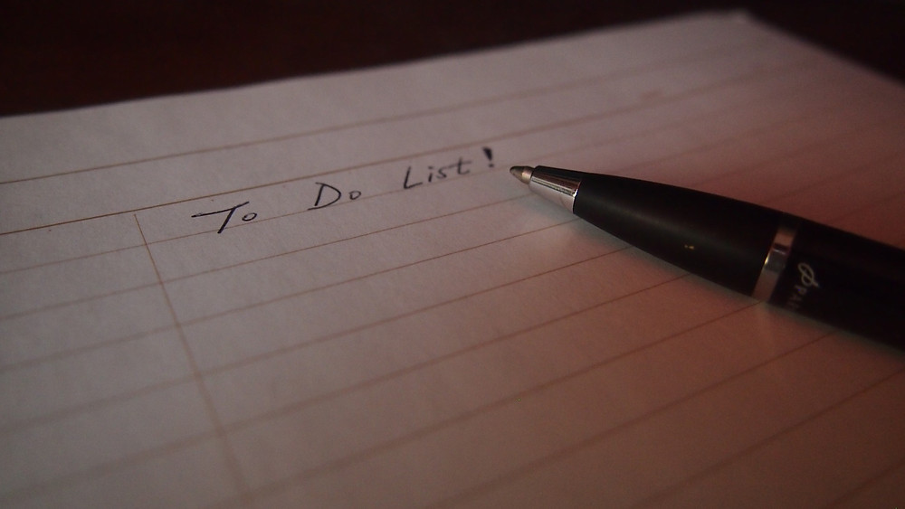 Step away from the never-ending to do list