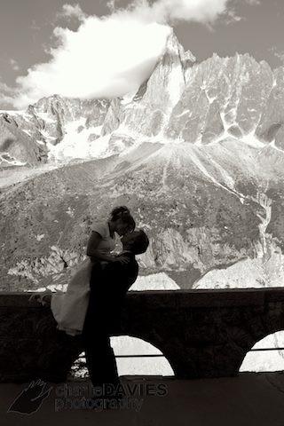 Chamonix Wedding Day with Ben