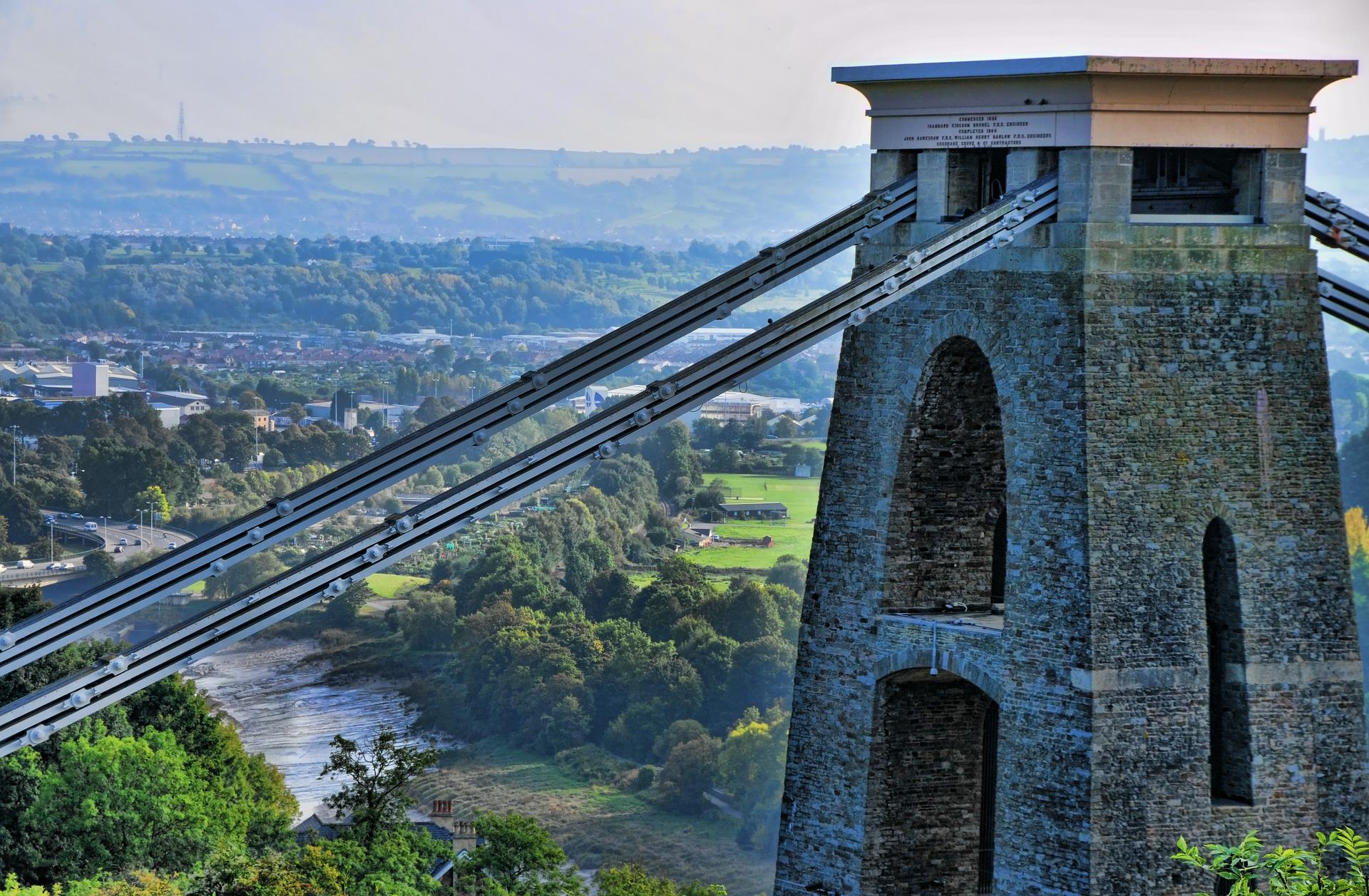 Clifton Bridge, Bristol, UK