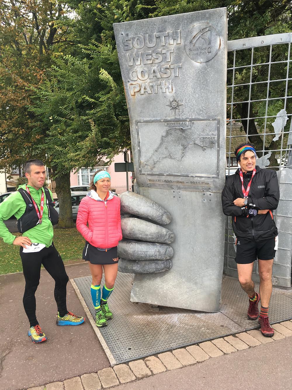 Exmoor 50 Top 3 Runners
