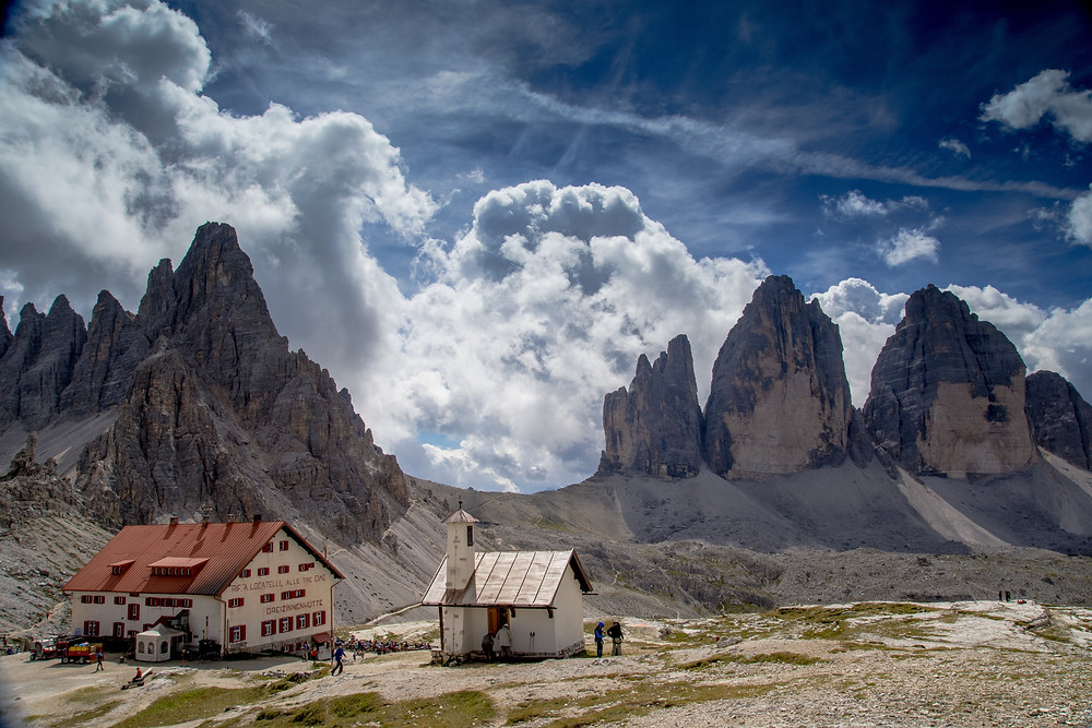 Breath Taking Tre Cimes Di Lavaredo