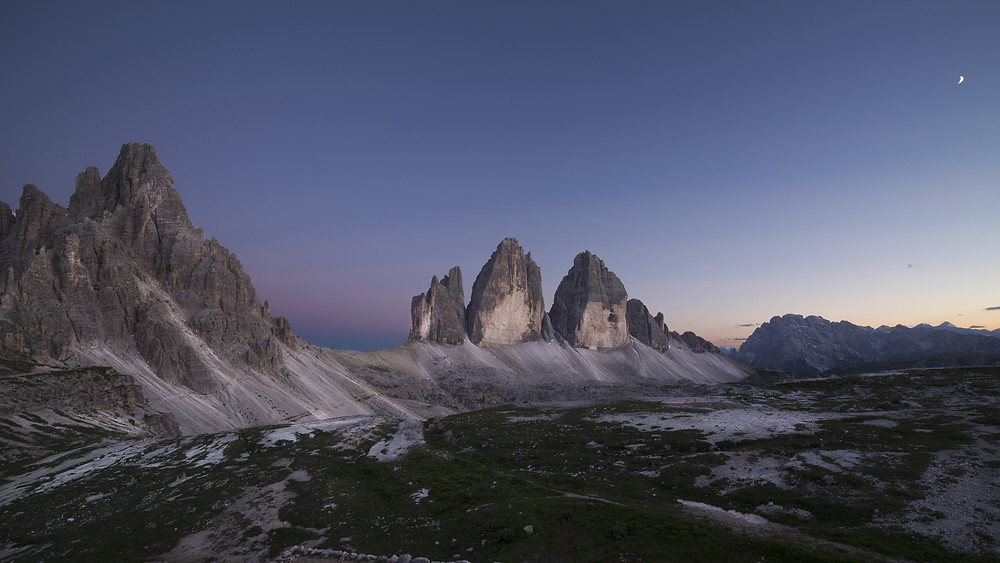 The Dawn Approaches Over Tre Cimes di Lavaredo