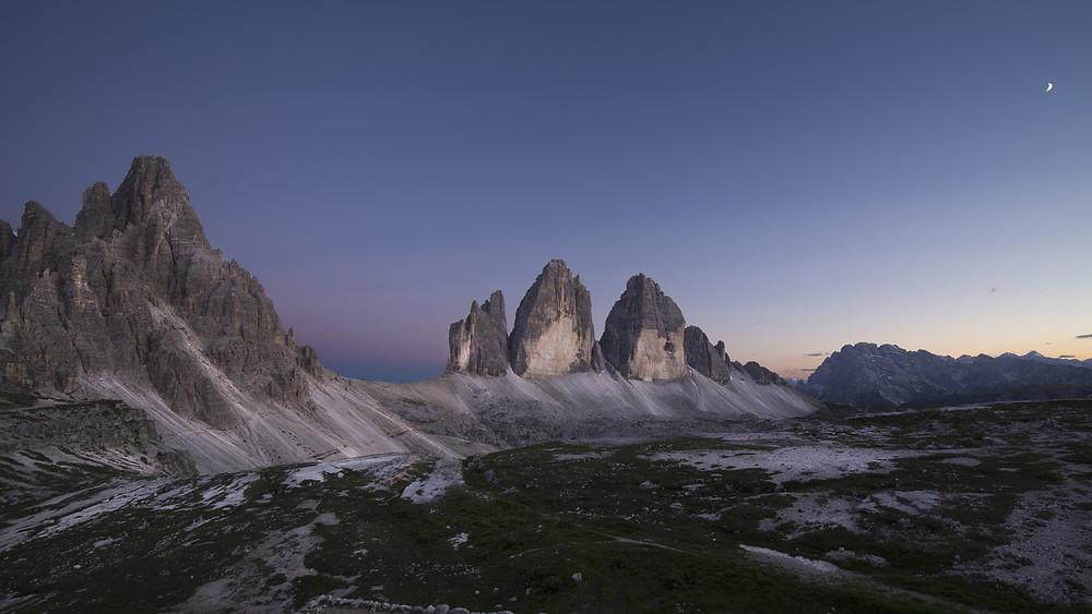 The Dawn Approaches Over Tre Cimes di Lavaredo
