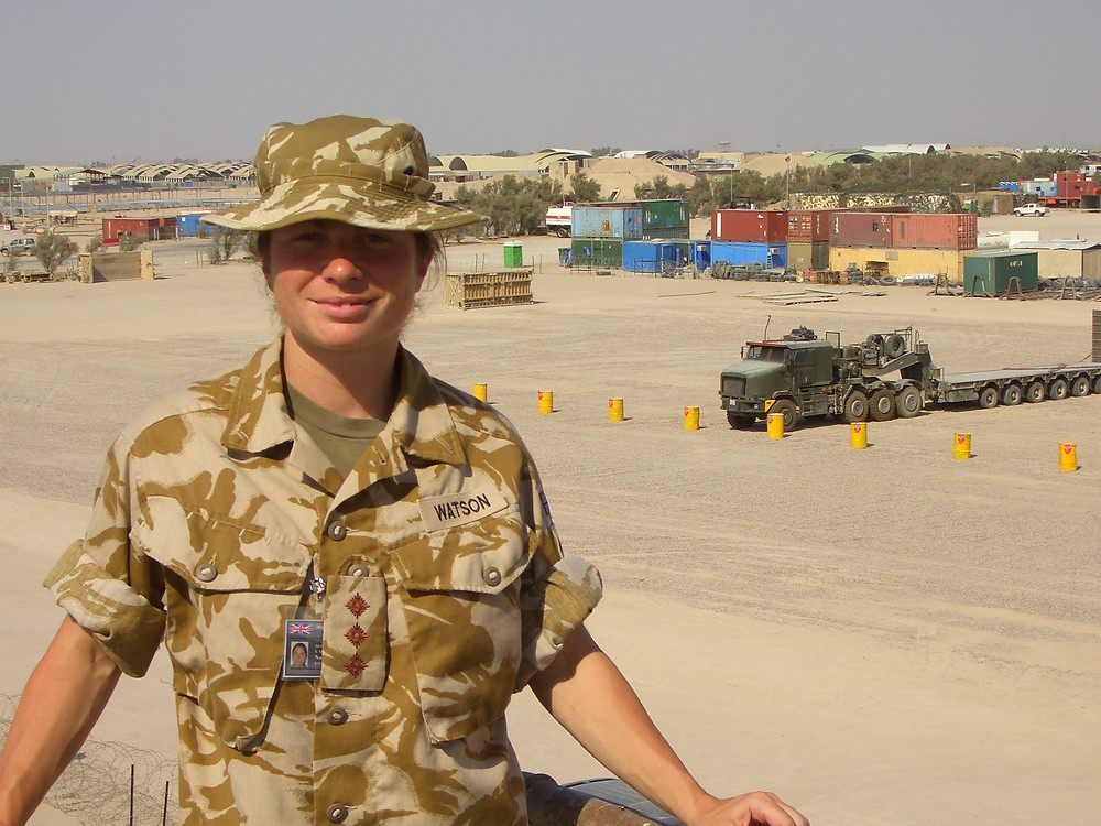Shabah Logistics Base in Iraq