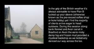 Misty morning in Bradford on Avon