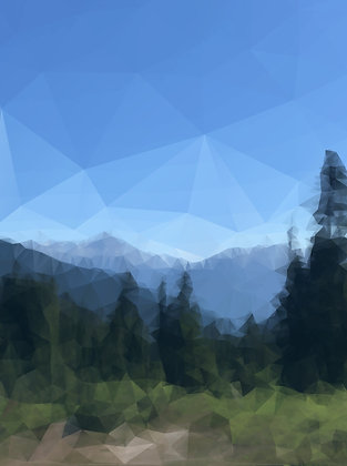 High Alpine - print