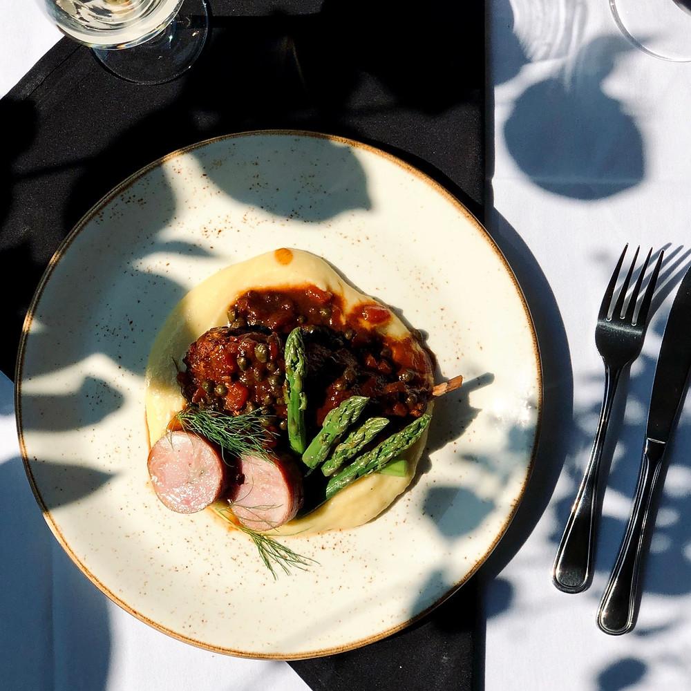 Quattro at Whistler Fine Dining Italian Braised Rabbit