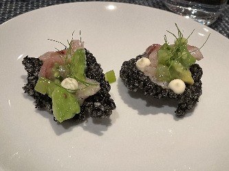 Tuna Crudo Whistler Food Quattro Restaurant Fresh Summer
