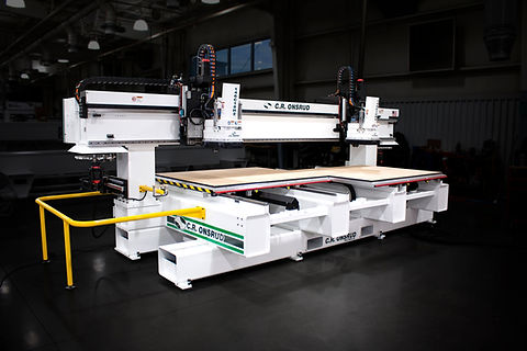 A C.R. Onsrud C-Series CNC Router With Dark Background