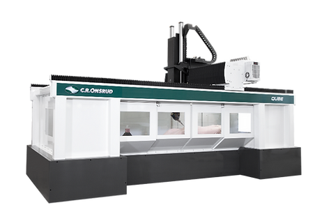 A C.R. Onsrud Qube Series CNC Machining Center