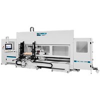 An Intorex TMC 1500 5 Axis CNC Lathe Machinig Center