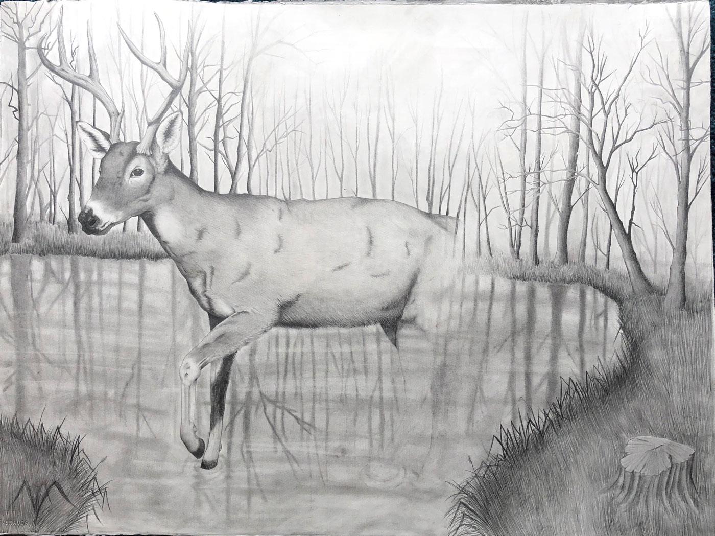 Ethereal Deer
