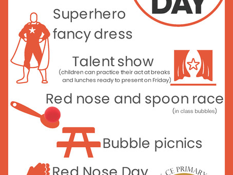 RED NOSE DAY!!