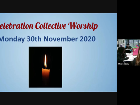 COLLECTIVE WORSHIP 30/11/2020