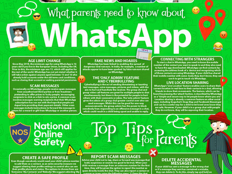E-SAFETY SUPPORT: WHATS APP