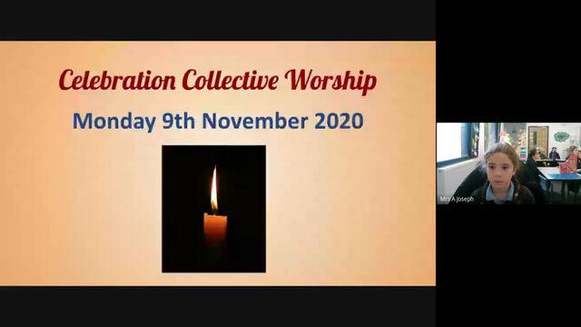 COLLECTIVE WORSHIP 10/11/2020