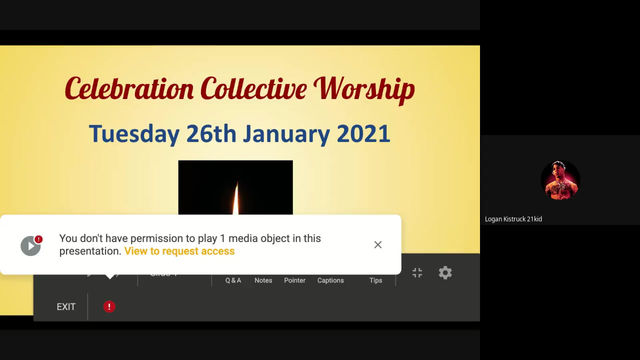 COLLECTIVE WORSHIP 26.01.2021