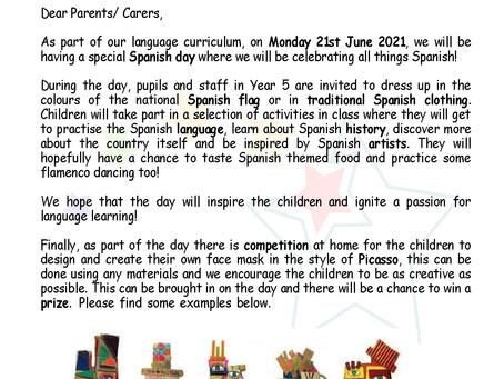 YEAR 5 SPANISH DAY