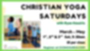 Christian Yoga Saturdays - Soffit  (42x2