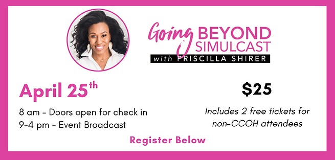 Priscilla Shirer Simulcast - Website Sli