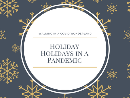 Walking in a COVID Wonderland: Holidays in a Pandemic